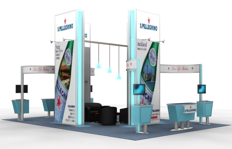Exhibition Booth Printing : Island booth malaysia attractive booths in